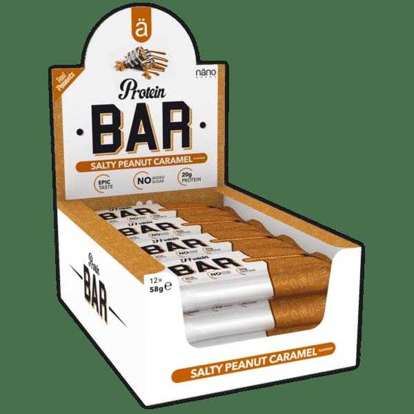 ä PROTEIN BAR - Salty Peanut Caramel (Kassi)